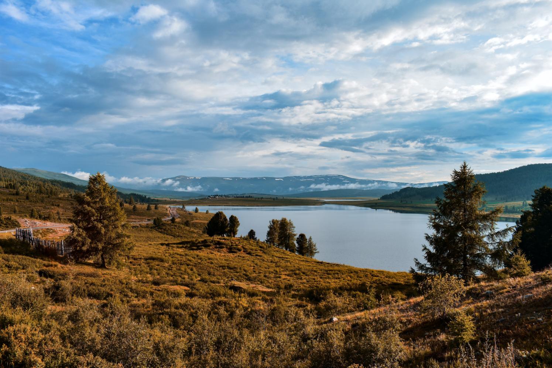 Landscape Lake Mountains